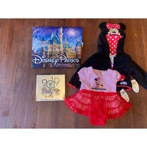 Disney Minnie Mouse Dress & Sweater combo